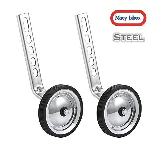 MacyHS Training Wheels for Children's Bicycle stabiliser(for 12 14 16 18 20 inch Wheels) (Steel)