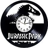 YYIFAN Jurassic World - Reloj de pared de vinilo, diseño vintage, regalo de cumpleaños, regalo de Navidad, regalo creativo de 30 cm