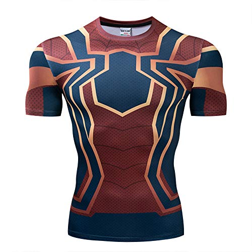 Compression base layer body armour Long Sleeve men/'s gym T-Shirt Sports top TNQ