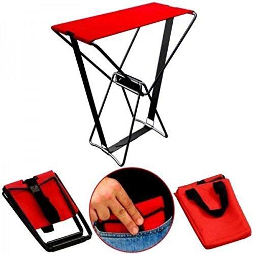 Trymway Sedia pieghevole da esterno regolabile con tasca per sedia portatile da 113,4 kg, con borsa da trasporto