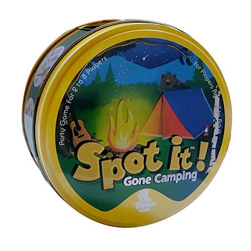 Spot It 395in Spot It Card Game,English Game Family Party Playing Cards Camping