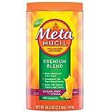 For Naturally sweetened fiber supplement Metamucil Fiber Premium Blend Review