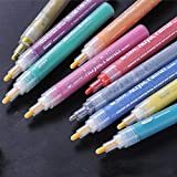 Rotulador, 12/24 piezas de colores acrílicos pintores de graffiti marcadores de dibujo, suministros de arte – 24 piezas