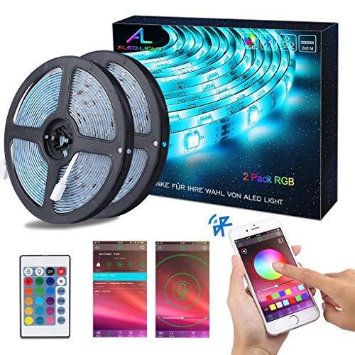 5m 3528 5050 SMD 300 LED Strip Streifen RGB  Lichter Band Dekoration Netzteil