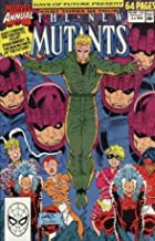 The NEW MUTANTS Annual #6 (1st Appearance X-FORCE & SHATTERSTAR)