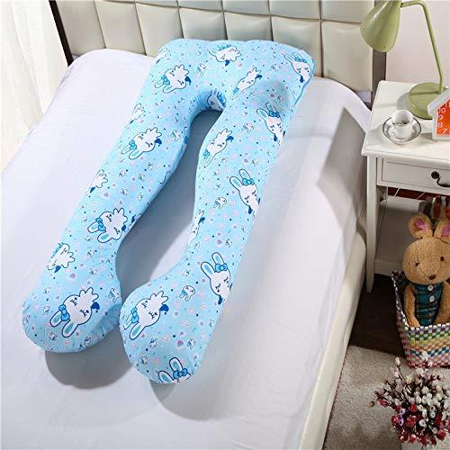 Almohada Para Mujeres Embarazadas 100% AlgodóN, Soporte Para Cadera, Cintura, MultifuncióN, Almohada Para Soporte De Cintura En Forma De U, Almohada Para Mujeres Embarazadas