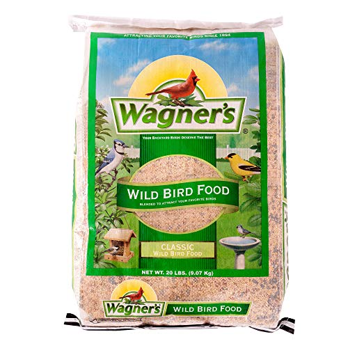 Wagner's 52004 Classic Blend Wild Bird Food, 20-Pound Bag