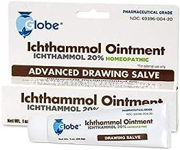 Ichthammol Ointment 20%, (Drawing Salve) 1oz Tube (28.3g) Pharmaceutical Grade****
