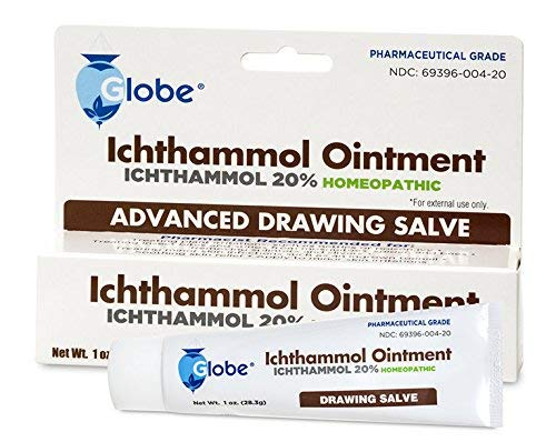 Ichthammol Ointment 20%, (Drawing Salve) 1oz Tube (28.3g) Pharmaceutical Grade****