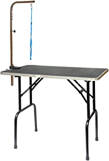 Go Pet Club Pet Dog Grooming Table with Arm, 30-Inch