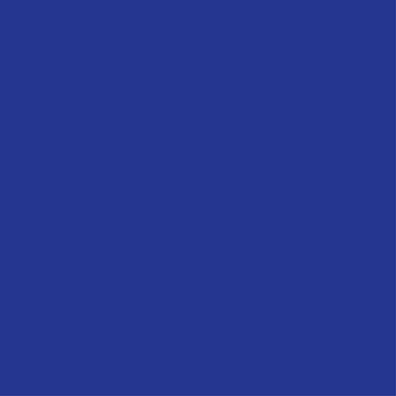Jillson Roberts 6-Roll Count All-Occasion Matte Finish Gift Wrap Available in 22 Solid Colors, Royal Blue