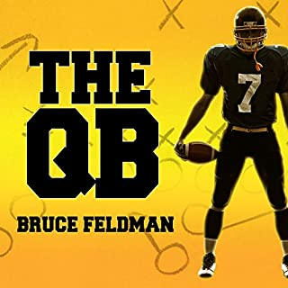 The QB audiobook cover art