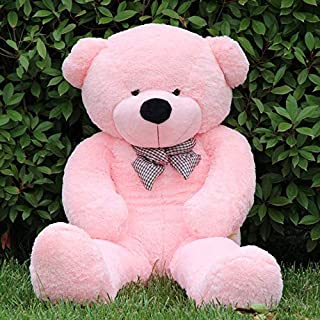 Gift Teddy Bear for Children and Female Huge Size 140CM (Pink)