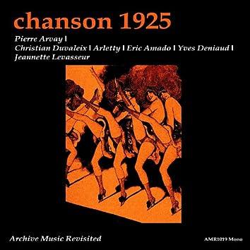 Chanson 1925