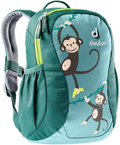deuter Kinder Pico dustblue-alpinegreen Children's Backpack, One Size