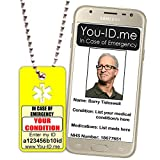 You ID Me Mujer Hombre Unisex Acero Inoxidable