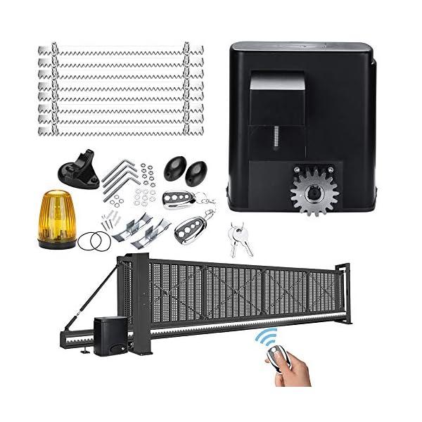 BMOT-Motor-Puerta-Corredera-motor-puerta-garaje-Mx-600kg-con-2-Mandos-a-Distancia-y-8-Cremalleras-Operador-de-puerta-corrediza