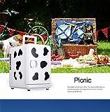 MIAO Refrigerador de automóvil Privado Mini refrigerador portátil de Baja Potencia La Leche se Puede Calentar cocinas caseras de automóviles, Rosa, Polvo