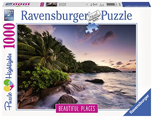 Ravensburger-00.015.156 Isola di Praslin sulle Seychelles, Puzzle, Colore Grigio, 00.015.156