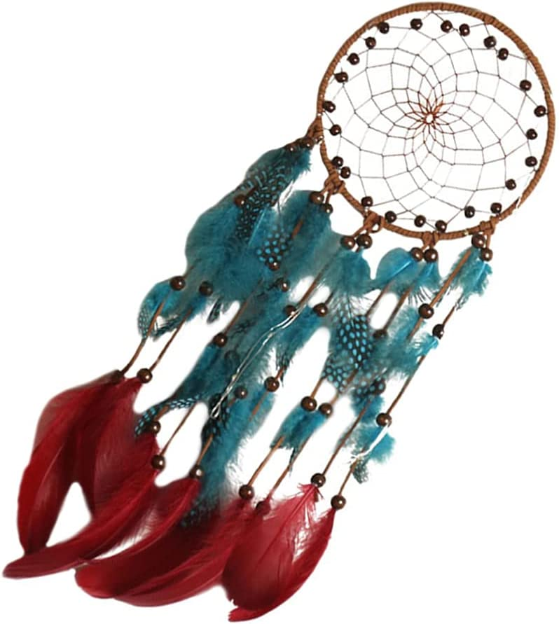 IMIKEYA Feather Dream Catcher Indian Outstanding Handmade Beads Dreamcatcher Special price for a limited time