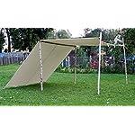 10ft x 20ft tarp TARPAULIN pre medival civil war canvas tent for Living history Reenactment bell frame knight