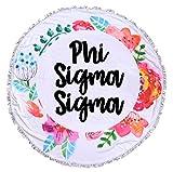 Sorority Shop Phi Sigma Sigma - Fringe Towel - Blanket