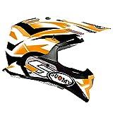 SUOMY KSAL0001.5 Casco para Motocross, Naranja, L