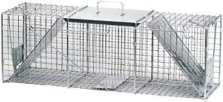 Havahart 1045 Live Animal Two-Door Raccoon, Stray Cat, Opossum, and Groundhog Cage Trap