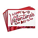 Hallmark Pack of Valentines Day Cards, Roses (6 Valentine's Day Cards with Envelopes)