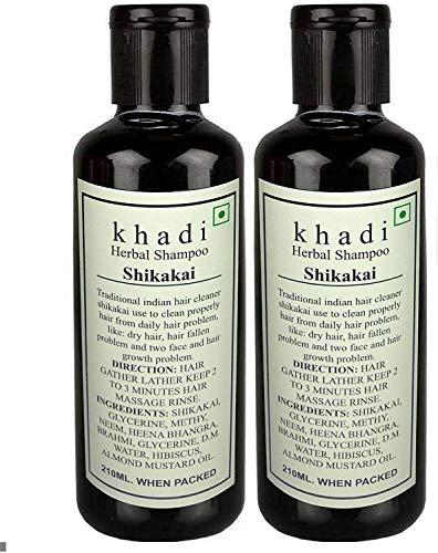 Glamouröser Hub Khadi Swati Shikakai Shampoo 420 ml (Verpackung kann variieren)