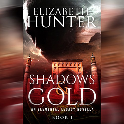 Shadows and Gold audiobook cover art