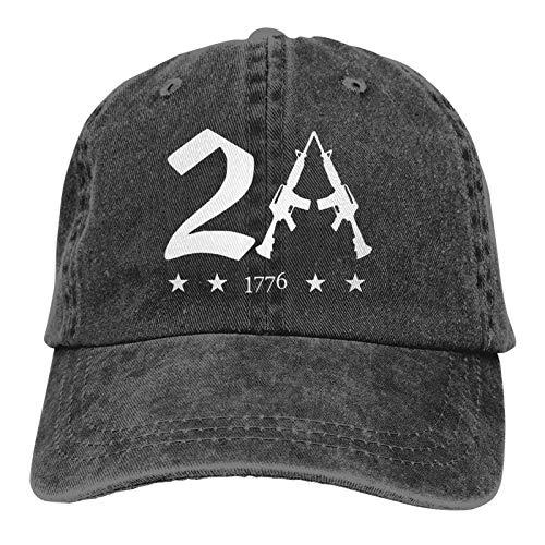 Jopath 2A 1776 Gorra de béisbol 2nd Amendment Gorra ajustab