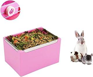 Guinea Pigs Hay Feeder Bowl, Rabbit Mess-Free Alfalfa Dispenser, Manger Rack for Small Animal, Rabbit, Guinea Pig, galesaur, Ferret