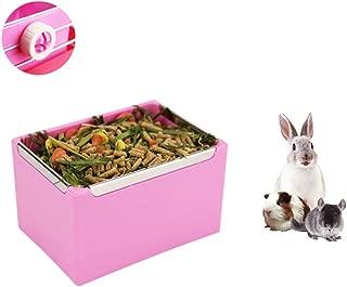 Nishci Guinea Pigs Hay Feeder Rack Rabbit Mess-Free Alfalfa Dispenser,Hay Manger Rack for Guinea Pig Rabbit