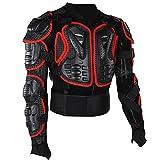 Bnineteenteam Armadura de Motocicleta, Chaqueta Protectora de Armadura de Montar Armadura de Cuerpo Completo para Motocicleta para Hombres y Mujeres Adultos(2XL)