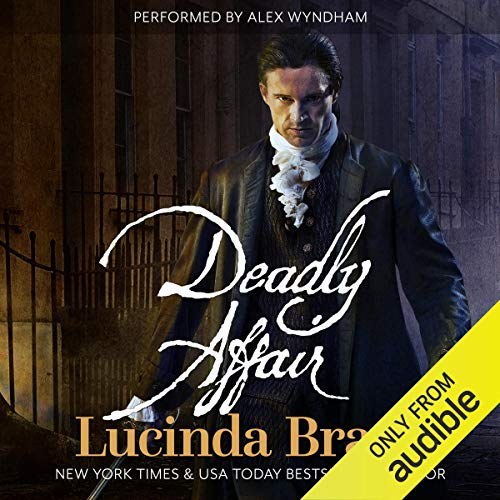 Deadly Affair audiobook cover art