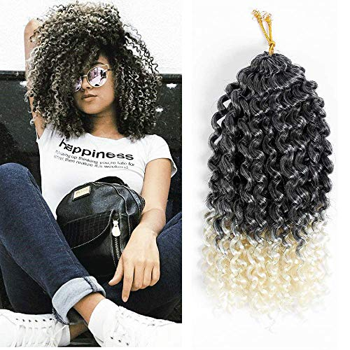 3 Pack Spring Twist Ombre Colors Crochet Braids Synthetic Braiding Hair Extensions Low Temperature Fiber 110g