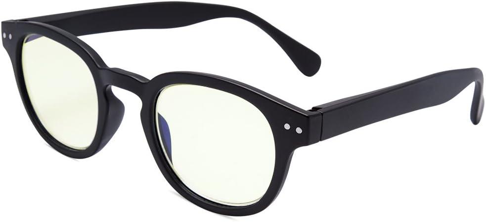 EYEGUARD Blue Light Glasses for Kids Spring Hinges Computer Glasses,Anti Glare Eyeglasses(3-8 Years Old