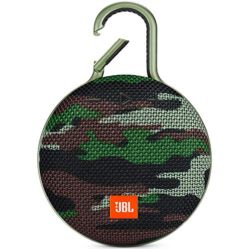 JBL CLIP3SQUAD Clip 3 Portable Bluetooth Speaker - ...