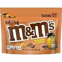 M&M's English Toffee Peanut Chocolate Candy - 9oz [並行輸入品]