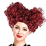 Short Afro Curly Beehive for Women Wig Halloween Cosplay Hair