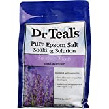 Dr Teal's Epsom Salt 4-pack (12 lbs Total) Soothe & Sleep with Lavender