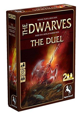Pegasus Spiele 18140e Dwarves The Duel, Jeux de Cartes