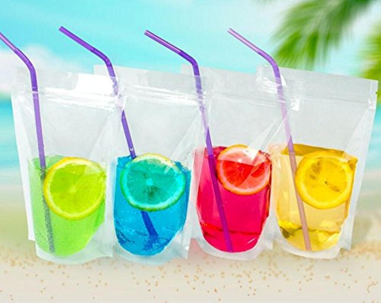 punto de venta en línea Genérico 9 x 13 cm  100 100 100 bolsas transparentes de plástico para bebidas y café, con cierre de cremallera y cierre de grano para hornear dulces y alimentos  al precio mas bajo