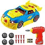 PPTOY Tomar Parte Racing Car Kit Juguetes for los niños-Construir su Propio Kit de Coche Construction Set con Sonidos y Luces realistas