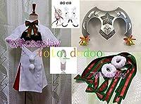Fate/Grand Orderジャンヌ・ダルク・オルタ・サンタ・リリィコスプレ衣装+ウィッグ+ブーツ靴+道具髪飾り