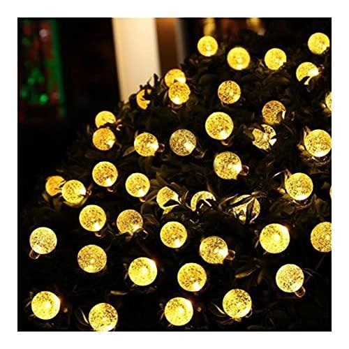 Luz de la Secuencia de la Burbuja de la decoración del jardín, Luces de Hadas de la Secuencia del LED, decoración navideña del jardín de Las guirnaldas solares para al Aire Libre