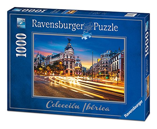 Ravensburger 19618. Puzzle 1000 pieces. Gran Via de Madrid