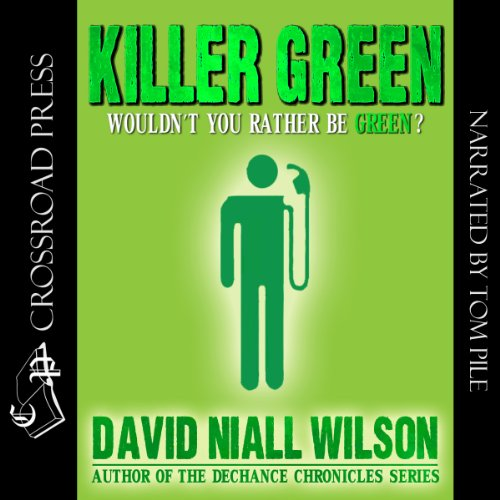 Killer Green audiobook cover art