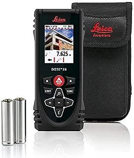 Leica Disto X4 500' Laser Measure with Zip zip - 2 oz reel 36